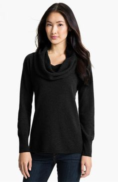 Nordstrom Collection Cowl Neck Cashmere Sweater available at #Nordstrom