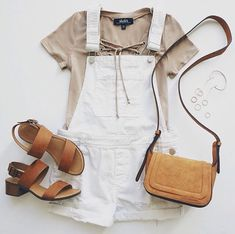 Your wardrobe can't be complete without the Blank NYC White Short Distressed Denim Overalls! Distressed denim shapes a pocketed bib, plus cuffed, pocketed shorts. Winter Outfits For Teen Girls, Casual Outfits For Teens, Spring Outfits, Cute Outfits, Teen Outfits, Summer Fashion For Teens, Fashion Spring, Moda Fashion, Teen Fashion