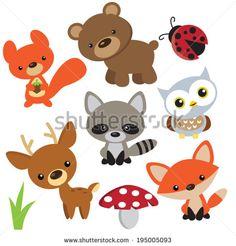 Animales Vectores Vectores en stock y Arte vectorial | Shutterstock