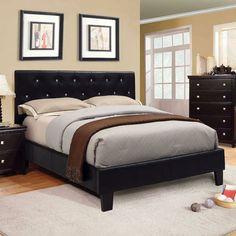 Black leather bed Possibility