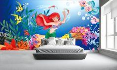 Disney Wallpaper | Childrens Wallpapers | Little Mermaid Wall Mural