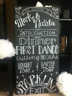 Sew What Projects Etsy Chalkboard Wedding Sign