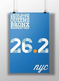 New York City Marathon Poster!