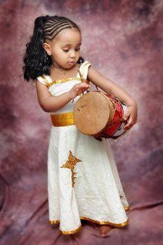 Natural hair - little drummer gem