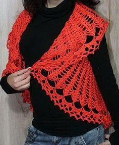 Crochet Sweater: Crochet Circular Vest