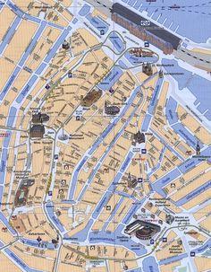 #Amsterdam City Map