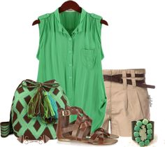 """Shorts Weather Contest #3"" by angkclaxton on Polyvore"