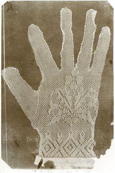 Hippolyte Bayard - Handschuh c. 1840
