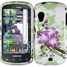 Samsung Green Lily Hard Case Cover for Samsung Stratosphere I405