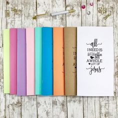 Your place to buy and sell all things handmade Create Yourself, Finding Yourself, Christian Gifts, Travelers Notebook, Unique Gifts, Prayers, Faith, Travel Journals, Journalism