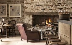 The Wild Rabbit Hotel Review, Cotswolds, Oxfordshire   Travel Chicken Shed, Toronto Houses, Wild Rabbit, Dry Stone, Private Dining Room, Cool Countries, Rustic Charm, Interior Design, Furniture
