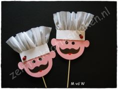 Koks - Lilly is Love Kids Crafts, Preschool Arts And Crafts, Toddler Crafts, Preschool Activities, Diy And Crafts, Paper Crafts, Community Helpers Crafts, Restaurant Themes, Food Themes