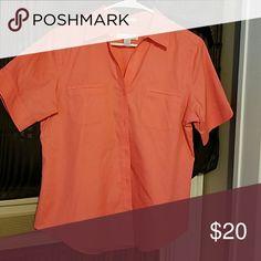 Shirt No iron short sleeve causal shirt Chico's Tops Button Down Shirts