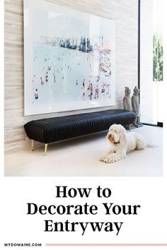 Chic entryway decorating ideas to make the best first impression with guests as they walk in the door.