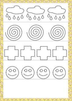 schrijfoefening Tracing Worksheets, Kindergarten Worksheets, Worksheets For Kids, Pre Writing, Writing Skills, Pre K Activities, Preschool Activities, Alphabet Writing Practice, Tracing Sheets