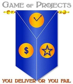 The Game of Projects: You Deliver or You Fail