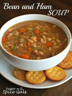 Spice Gals: Crock Pot Bean and Ham Soup