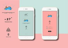 Weather APP Login on Behance Best Picture For book App Design For Your Taste You are looking for something, and it is going to tell you exactly what you are looking for, and you didn't find that pictu Web Design, App Ui Design, Dashboard Design, Mobile App Design, Interface Design, Design Layouts, Graphic Design, Journal App, Baby Journal