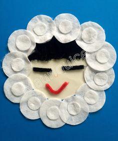 gemaakt van make-up pads