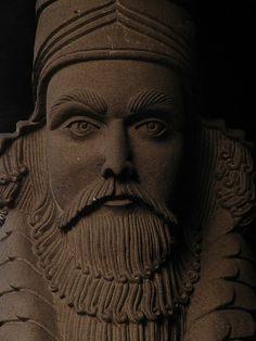 Zoroastrian carving