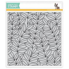 New from our Fresh Bloom release! Simon's cling stamps are deeply etched and made in the USA with red rubber. High quality cling rubber stamp measures approximately x inches. Simon Says Stamp Blog, Card Making Supplies, Leaf Background, You Are Awesome, Amazing, Watercolor Cards, My Stamp, Clear Stamps, Scrapbook Cards