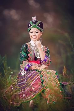 Image by xiong vfx!! Beautiful hmong green outfit