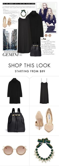"""""""Fashion Horoscope for Gemini"""" by lookat ❤ liked on Polyvore featuring Olsen, The Row, Steve Madden, Tory Burch, whatsyoursign and gemin"""