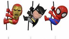 Action Figure Cinema - mini figures NECA di Batman, Spider-Man, Pacific Rim,  Iron Man, Il pianeta delle scimmie