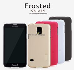 sFor Samsung Galaxy S5 / i9600 Case Nillkin Frosted Shield Hard Back Cover Cases For Samsung Galaxy S5 +Gift Screen Protector