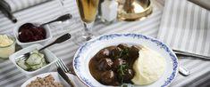 Ulla Winbladh Restaurant and Inn Swedish Cuisine, Catering Menu, Swedish House, Swedish Recipes, Cookies Policy, Beef, Food, Meat, Swedish Home