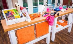 Home & Family - Tips & Products - Sophie Uliano's Bathroom Organization Tips | Hallmark Channel