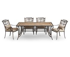 Patio & Deck Dining Seating Fire-pits & Accents