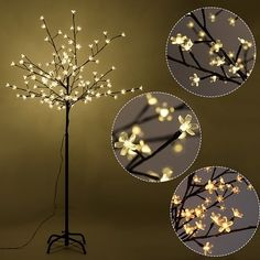 Shop for Costway Christmas Xmas Cherry Blossom LED Tree Light Floor Lamp Holiday Decor Warm White. Free Shipping on orders over $45 at Overstock.com - Your Online Home Decor Outlet Store! Get 5% in rewards with Club O! - 24754393