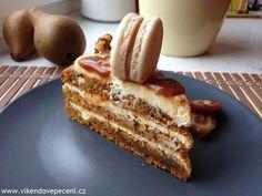 VÍKENDOVÉ PEČENÍ: Dýňový dort se slaným karamelem Dessert Recipes, Desserts, Cheesecakes, Sweet Recipes, French Toast, Good Food, Food And Drink, Baking, Breakfast
