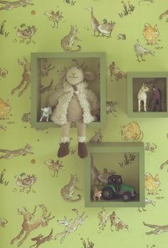 Quentin's Menagerie - Childrens - Browse Styles - The Best Wallpaper Place