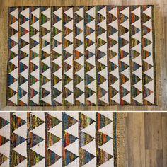 Tapete Triângulos 140 x 200 cm | A Loja do Gato Preto | #alojadogatopreto | #shoponline | referência 82864404