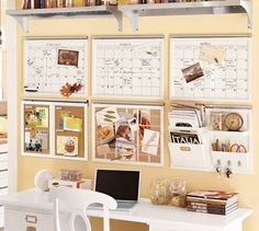 Build Your Own - Daily System Components - White | Pottery Barn-something like this for office?