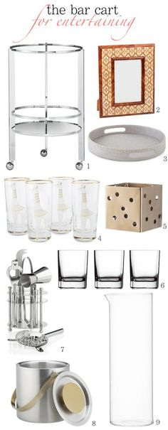 The Well-Styled Bar Cart in 5 Steps - The Budget Babe