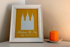 The {colored} Married Life: Home Tour Married Life, Candle Sconces, House Tours, Wall Lights, Candles, Frame, Color, Home Decor, Picture Frame