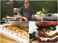 Brand new #samthecookingguy TV episode out now. I'm #grilling 3 recipes: Green Chili Cheese Burger, Kepie Mayo Shrimp And Ricotta and Arugula Pizza in my new outdoor kitchen. Watch on COX + available @thecookingguy