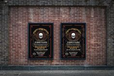 HALLOWEEN 2017 – Two digital poster displays for Halloween 2017 presented on digital boards. #graphicdesign #advertising #marketing #digitalboards #poster #advertisingpanel #Halloween #HalloweenParty