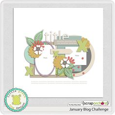 Template freebie from Little Green Frog Designs