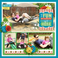 The Fun Starts Right Here by Jacinda using Words and Templates 7