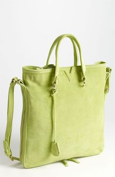 Opening Ceremony 'Tokyo' Satchel available at Nordstrom Green Handbag, Sub Brands, Shoe Art, Green Fashion, Spring Green, Mellow Yellow, Pantone Color, Opening Ceremony, Shades Of Green