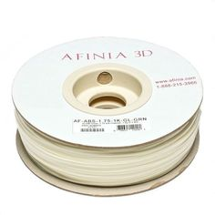 Afinia Value-Line Glow In The Dark ABS Filament
