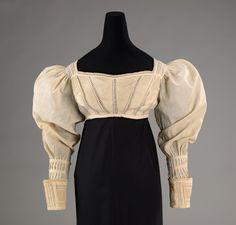 1825 Bodice | American | The Metropolitan Museum of Art