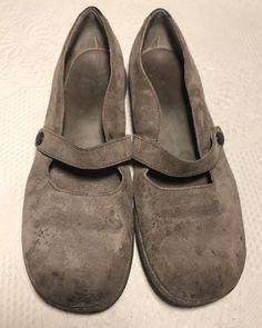 c7dbbcffd Teva Ventura Womens Brown Suede Cork Mary Jane Walking Shoes Flats Size 8   fashion