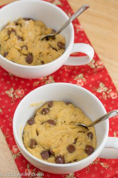 Chocolate Chip Cookie in a Cup | Big Flavors from a Tiny Kitchen