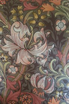 william morris. when i was  a kid Mum got our old lounge suite upholstered in this print..loved it then and still love it now
