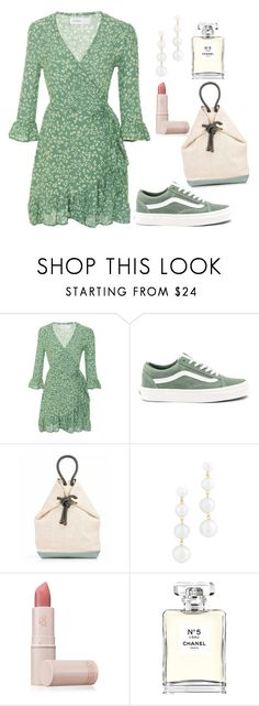 """"" by olgakurganova ❤ liked on Polyvore featuring Faithfull, Vans, Rebecca Minkoff, Lipstick Queen and Chanel"
